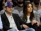 Ashton Kutcher a Mila Kunisová (4. března 2014)