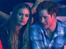 Cressida Bonasová a princ Harry (Londýn, 7. března 2014)
