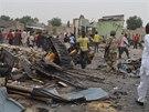 Na tržišti ve městě Maiduguri zabily nálože nastražené v autech 51 lidí. (2. 3.