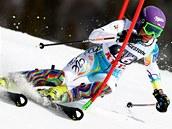 �árka Strachová ve slalomu v Aare.