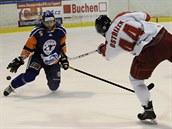 Momentka z utkání Litoměřice - Olomouc