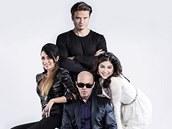 Porota X Factoru: Sisa Sklovsk�, Ond�ej Brzobohat�, Oto Klemp�� a Celeste Buckingham