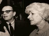 Olga Havlová a Jack Nicholson