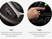 Apple slibuje prostřednictvím CarPlay ovládat iPhone přes hlasové ovládání s...