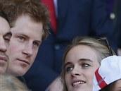 Princ Harry a Cressida Bonasová