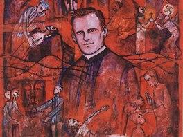 Richard Henkes v Dachau pom�hal spoluv�z��m, dokonce se dobrovoln� p�ihl�sil na...