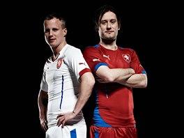 Fotbalová reprezentace představila nové dresy