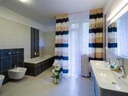 Koupelna pokoje kategorie Deluxe Suite