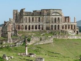 Ruiny paláce Sans-Souci