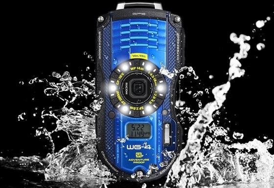 Odolné fotoaparáty WG-4 GPS & WG-4. Ricoh Imaging rozšiřuje nabídku