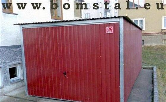 Plechová garáž, zahradní domek nebo příruční skladiště?