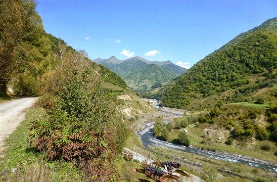 Ústí Gudamaqarského údolí