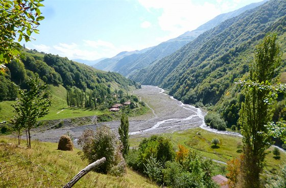 Vesnice Čochi a Gudamaqarské údolí