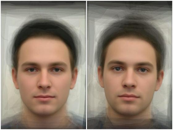 Vlevo toxo pozitivní (infikovaný), vpravo toxo negativní (neinfikovaný) mužský...
