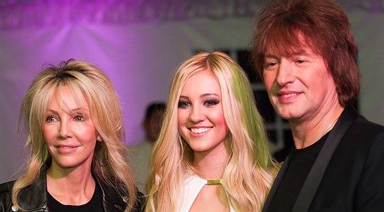 Richie Sambora, Heather Locklearová a jejich dcera Ava (říjen 2013)