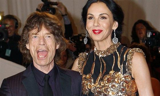 Mick Jagger a L�Wren Scottov�