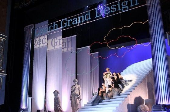 Předávání Cen Czech Grand Design se v letošním roce neslo v duchu antického
