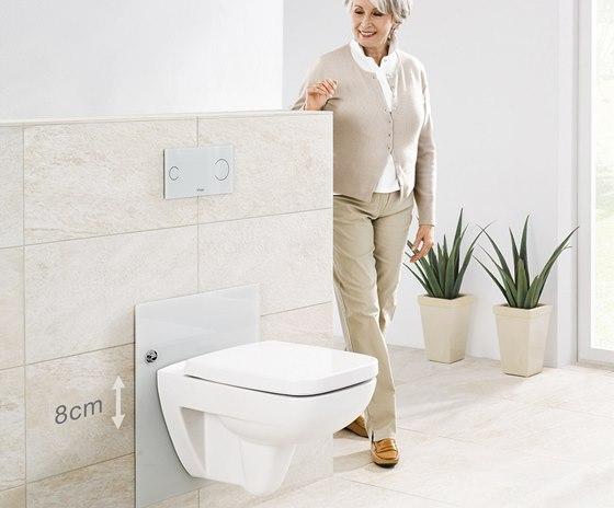Starší lidé, kteří mají problém například s artrózou, určitě zvýšenou WC mísu