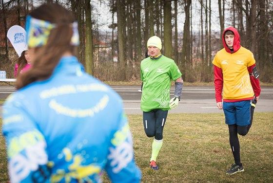 Dalibor Gondík sportuje intenzivně, přispívá si tak k větší pohodě.