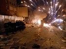 Protesty proti vládě premiéra Erdogana, které vypukly po pohřbu patnáctiletého...