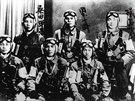Piloti kamikadze před svojí sebevražednou misí