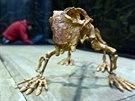 Jeden z expon�t� v�stavy Dinosaurium v pra�sk�ch Hole�ovic�ch