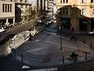 Jedním z vytipovaných kruhových objezdů v Praze, jehož střed by mohl být osazen...