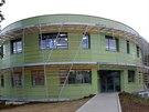 IKEM otevřel nový pavilon Centra experimentální medicíny Z7 Elipsa (17.3.2014)