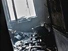 Nezbylo nic. Požár v panelovém bytě v Prušánecké ulici v Brně zaměstnal...