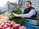 Zelináři a další trhovci tento týden v Brně poprvé prodávají na novém místě....