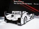 Porsche 919 Hybrid, závodní speciál pro Le Mans se představil na autosalonu v...