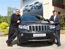 Sergio Marchionne a šéf značky Jeep Mike Manley