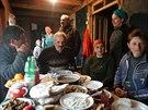 Tradi�n� pohostinnost lid� v Muchu�e. Kdy� p�ijde n�v�t�va, nachystaj� pokoje i...