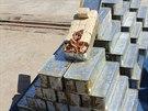 Izraelsk� arm�da zve�ejnila fotografie zbran� zabaven�ch na lodi m���c� do Gazy...