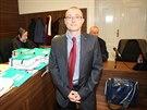 Martin Barták před jednámím Městského soudu v Praze v korupční kauze nákupu...