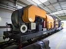 Čistící souprava TWS 30 slouží k vysávání prachu a nečistot z tunelů pražského...
