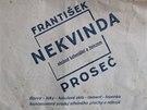 Reklamn� s��ky z obchodu Franti�ka Nekvindy