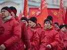 Prokremelsk� demonstrace v Moskv� (15. b�ezna 2014).