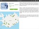 Aplikace Fripito - uk�zka cestopisu po Islandu