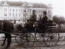 Fotografie z knihy Fotoalbum města Hradce Králové 1866 - 1918.
