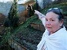 Vedle zahrádky Ey Schönekové v Medlánkách měla vyrůst jen malá chatka, staví se...