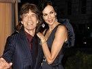 Mick Jagger a L'Wren Scottová