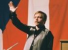 Karel Kryl při koncertě na podporu Solidarity, Mnichov 1982