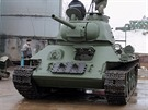 Obnova sov�tsk�ho tanku T-34 - dokument od tv�rc� on-line hry World of Tanks