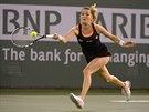 Agnieszka Radwa�sk� na turnaji v Indian Wells