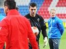 Fotbalová Plzeň trénuje před zápasem s Lyonem. S týmem se připravuje i brankář...