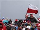 TAK BUDE NĚCO, NEBO NE? Polští fanoušci čekají, jestli přece jenom sobotní...