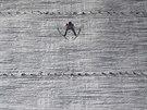 Němec Severin Freund během druhého kola na MS v letech na lyžích v Harrachově