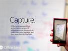 Office Lens vytvoří z fotoaparátu ve Windows Phone telefonu skener