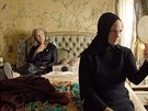 Jessica Lange a Drew Barrymore v televizním filmu Grey Gardens (2009)